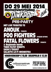 2014-05-29 Pre-Pinkpop Party